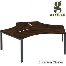 Gresham Mesa 120° Workstation Clusters £968 - Office Desks