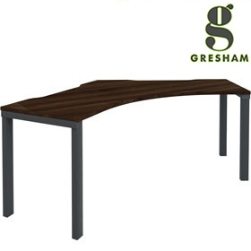 Gresham Mesa 120° Symmetrical Workstation £401 - Office Desks