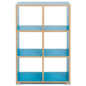 Bubblegum 6 Cube Vertical Room Divider £0 - Education Furniture