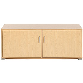 Bubblegum 4 Bay Low Level Cupboard £0 - Education Furniture
