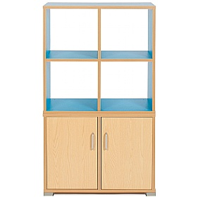 Bubblegum 4 Cube Room Divider Unit £0 - Education Furniture
