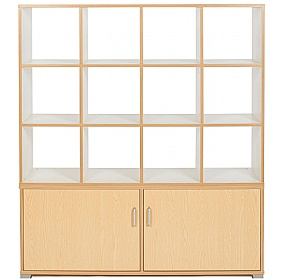 Bubblegum 12 Cube Room Divider Unit £532 - Education Furniture