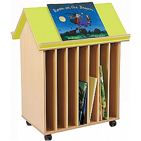 Bubblegum 7 Slot Bookhouse £0 - Education Furniture