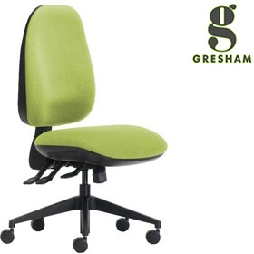 Gresham Platinum Plus Round High Back Office Chair £246 - Office Chairs