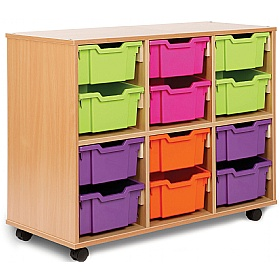 Storage Allsorts 12 Deep Tray Unit £0 - Education Furniture