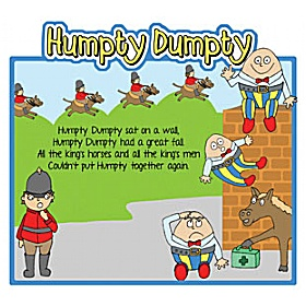 Humpty Dumpty Nursery Rhymes Signs £0 - Education Furniture