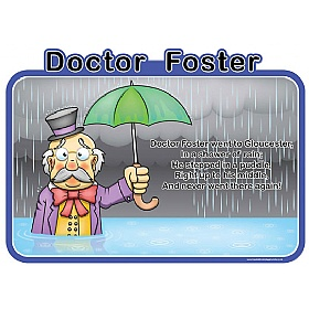 Doctor Foster Nursery Rhymes Signs £36 - Education Furniture