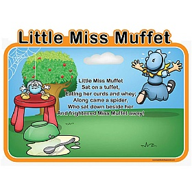 Little Miss Muffet Nursery Rhymes Sign £0 - Education Furniture