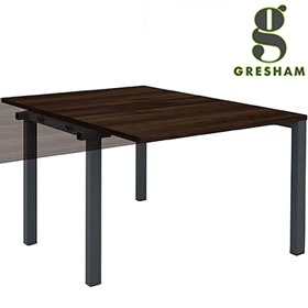 Gresham Mesa Rectangular Double Add On Bench Desks £260 - Office Desks