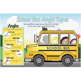 School Bus Angle Types Sign £36 - Education Furniture