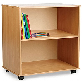 Mobile Classroom Bookcase £0 - Education Furniture