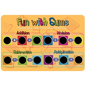 Fun With Sums Chalkboard £0 - Education Furniture