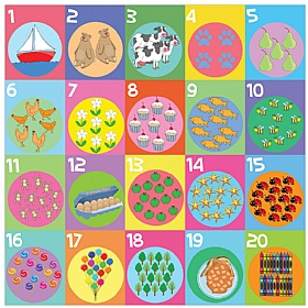 Counting To Twenty Sign £30 - Education Furniture