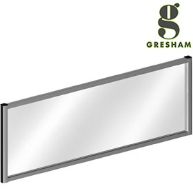 Gresham Mesa Acrylic Rectangular Desktop Screens £91 - Office Desks