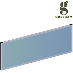 Gresham Mesa Fabric Rectangular Desktop Screens £102 - Office Desks