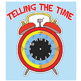 Tell The Time Clock Face Chalkboard £0 - Education Furniture