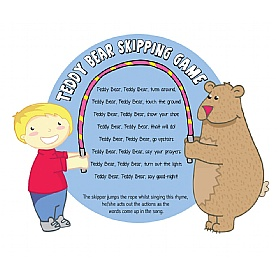 Teddy Bear Skipping Game Sign £0 - Education Furniture