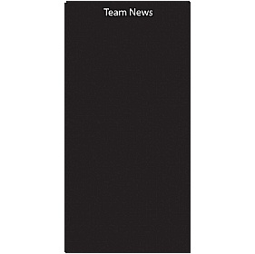 Team News Chalk Panels £36 - Education Furniture