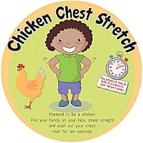 Chicken Chest Stretch Sign £0 - Education Furniture