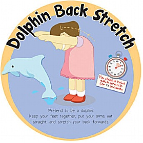 Dolphin Back Stretch Sign £0 - Education Furniture
