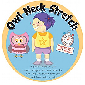 Owl Neck Stretch Sign £0 - Education Furniture