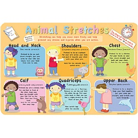 Animal Stretches Sign £36 - Education Furniture