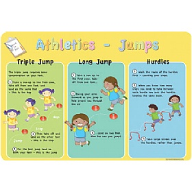 How To Play Athletic Jumps Sign £0 - Education Furniture