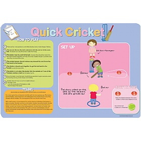 How To Play Cricket Sign £36 - Education Furniture