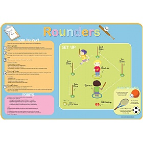How To Play Rounders Sign £36 - Education Furniture