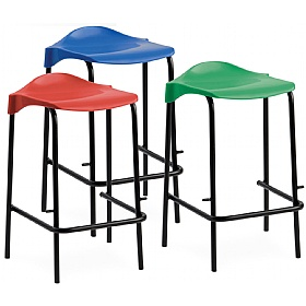 Scholar Polypropylene Low Back Stools £22 - Education Furniture