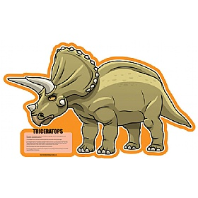 Triceratops Dinosaur Sign £0 - Education Furniture