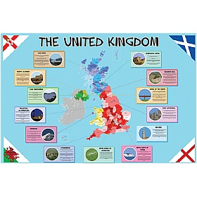 United Kingdom Map £0 - Education Furniture