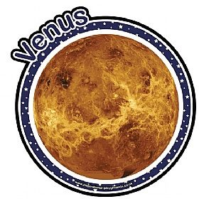 Planets Venus Sign £20 - Education Furniture