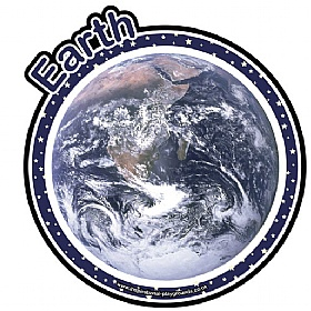 Planet Earth Sign £20 - Education Furniture