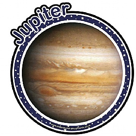 Planet Jupiter Sign £0 - Education Furniture