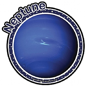 Planets Neptune Sign £0 - Education Furniture