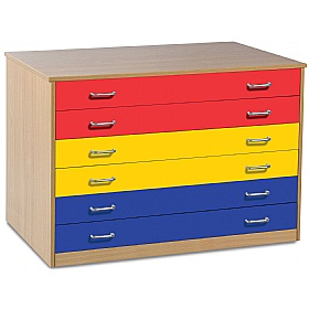 A1 Paper Coloured Plan Chest £0 - Education Furniture