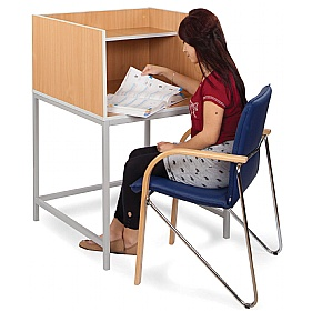 Study Carrel H-Leg £109 - Education Furniture
