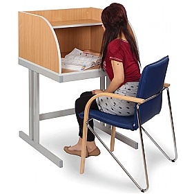 Study Carrel Cantilever Leg £0 - Education Furniture