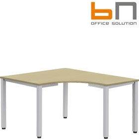 BN Easy Space Height Adjustable Square Leg Compact Ergonomic Desks £209 - Office Desks