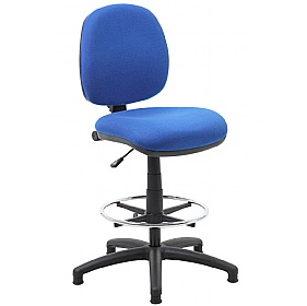 Comfort Fabric Draughtsman Chair 74 Office Chairs