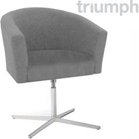 Triumph Oasis Swivel Chair With Star Base £248 - Reception Furniture