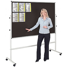 Resist-a-Flame® Mobile Noticeboard £212 - Display/Presentation