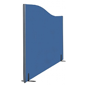 Layton Freestanding Wave Partition Screens £0 - Office Screens