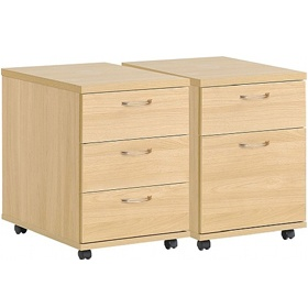 NEXT DAY Olympia Mobile Pedestals £120 - Next Day Office Furniture