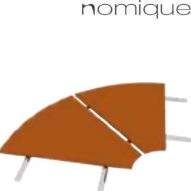 Nomique Infinity Modular 90 Degree Corner Wooden Connecting Tables £438 -
