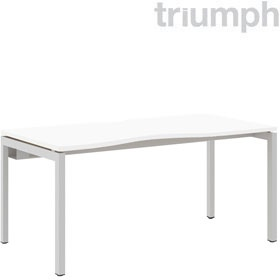 Triumph Metrix Bench Double Wave Starter Desk £219 - Office Desks