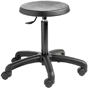 Industrial Poly Stool £84 - Office Chairs