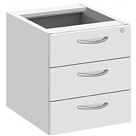 Commerce II White Fixed Pedestals £89 -