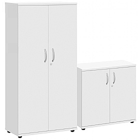 Commerce II White Office Cupboards £101 -